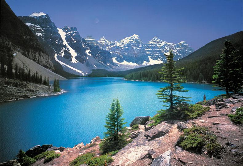 Canadian Rockies Wallpaper 790 X 542 141877 HD Wallpaper Res 790x542
