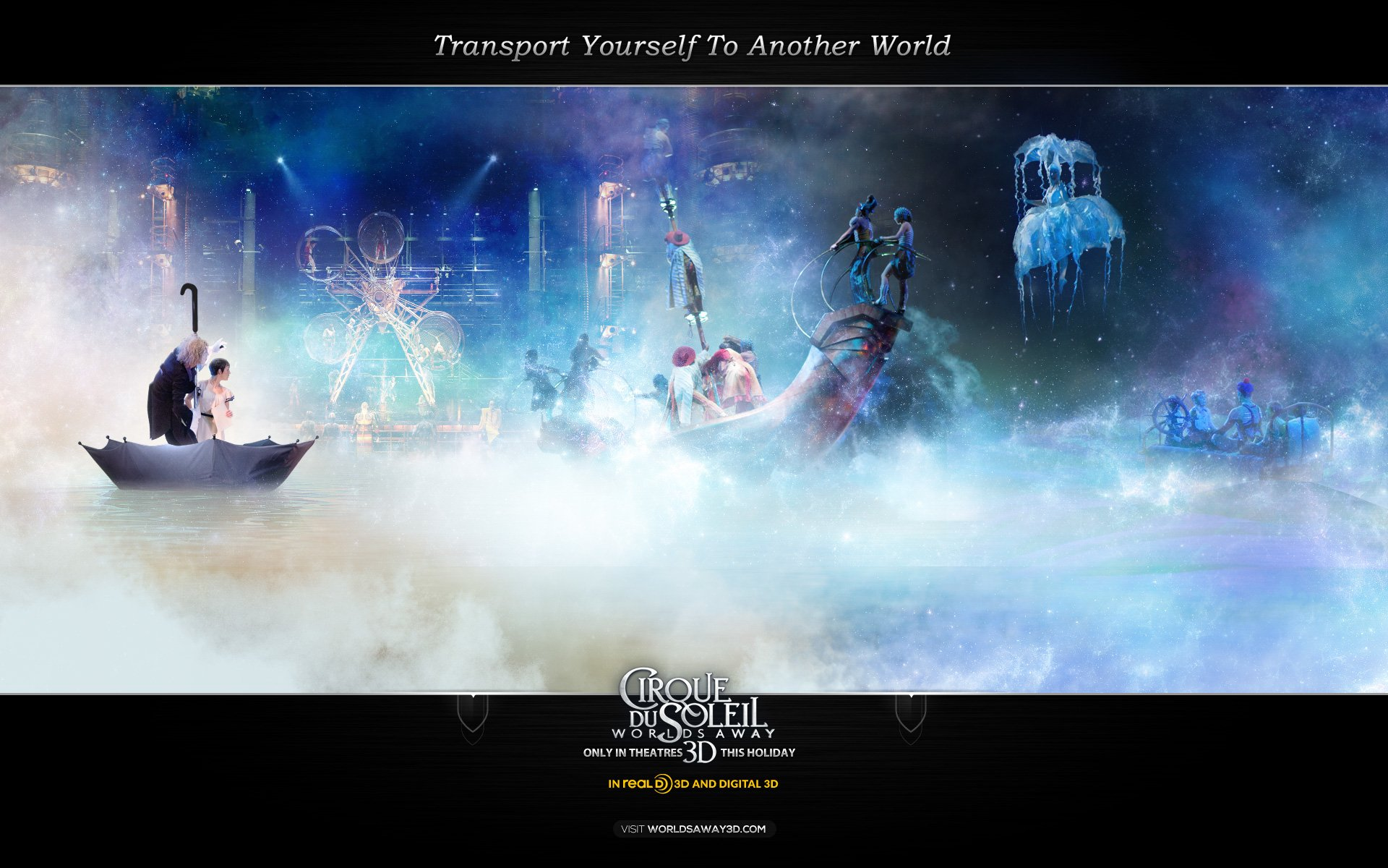 Transport Yourself To Another World HD Wallpaper Background 1920x1200