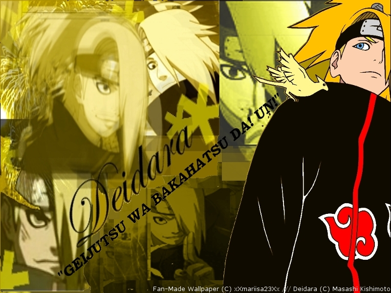 deidara wallpaper by ilacirjr - photo #16