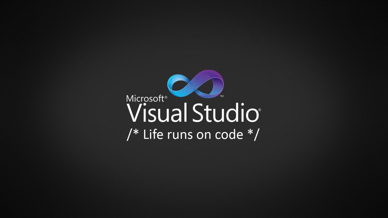 Visual Studio   Community Wallpapers Photo 1280x720