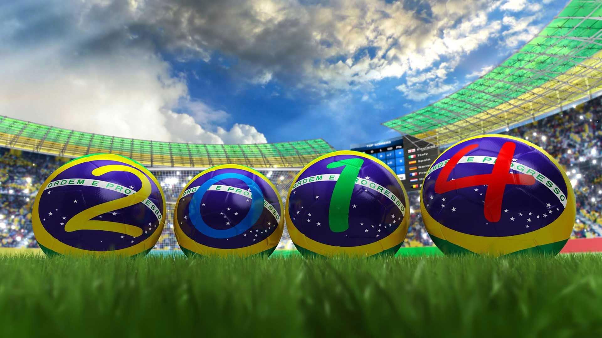 Brazil Football World Cup 2014 Wallpaper and Desktop 1920x1080