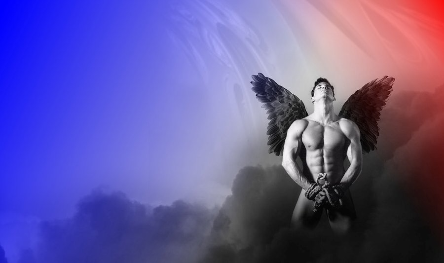 Fallen Angel wallpaper by Art of man 900x533