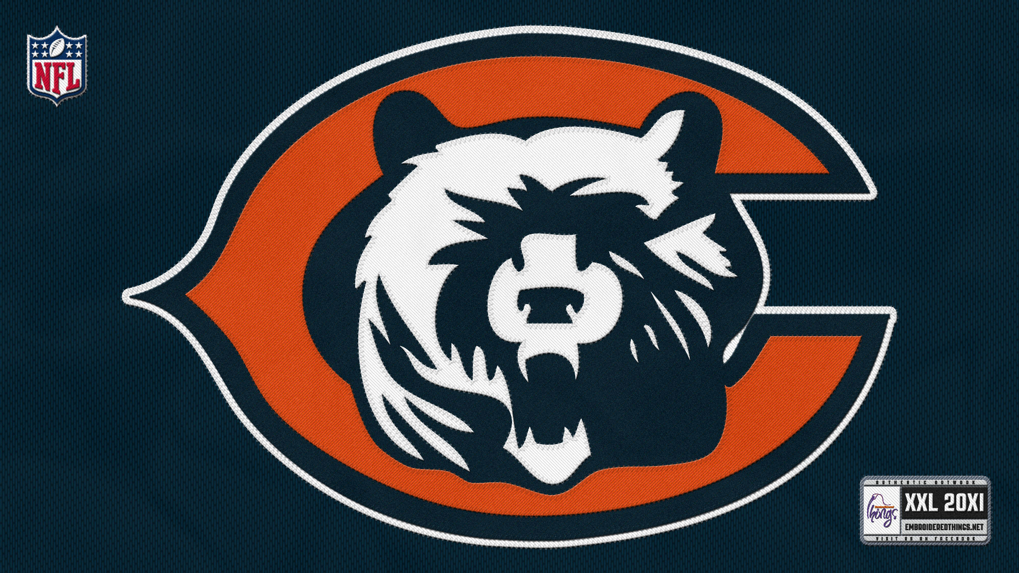 CHICAGO BEARS nfl football gk wallpaper 2000x1125 2000x1125