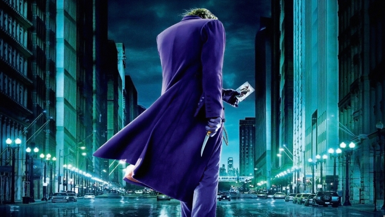 Joker in The Dark Knight Wallpapers HD Wallpapers 1280x720