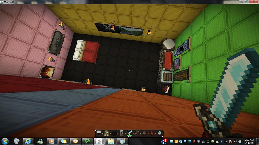 My Bedroom in Minecraft by wolfbeta9 on deviantART 900x506