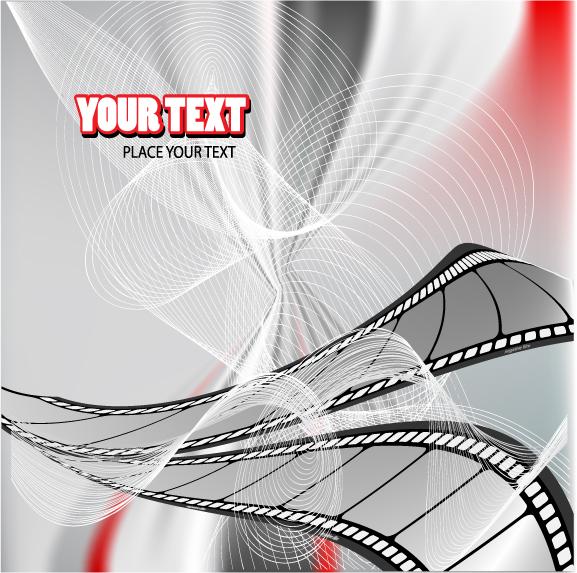Movie theme vector background Vector 4Vector 577x573