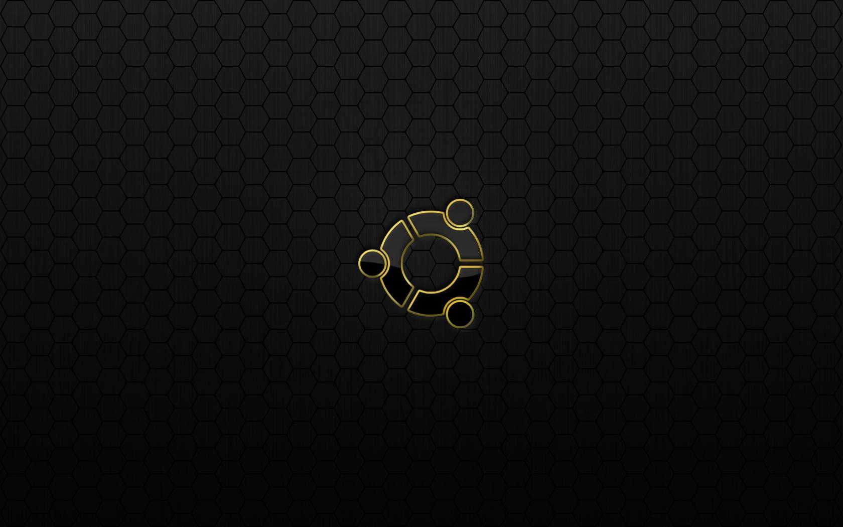 Dark Ubuntu Wallpaper 1680x1050
