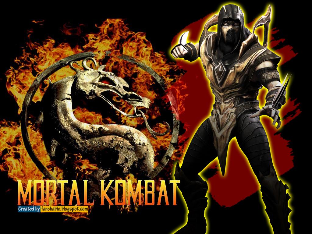 Scorpion Mortal Kombat Wallpaper HD Best Wallpaper 1024x768