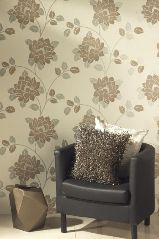 neutrally toned metallic half drop wallpaper httpbqcoukM8bYmA 535x800