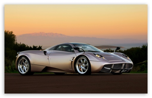 Download Pagani Huayra Sunset 510x330