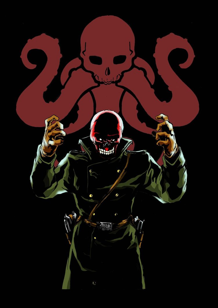 [49+] Marvel Red Skull Wallpaper on WallpaperSafari