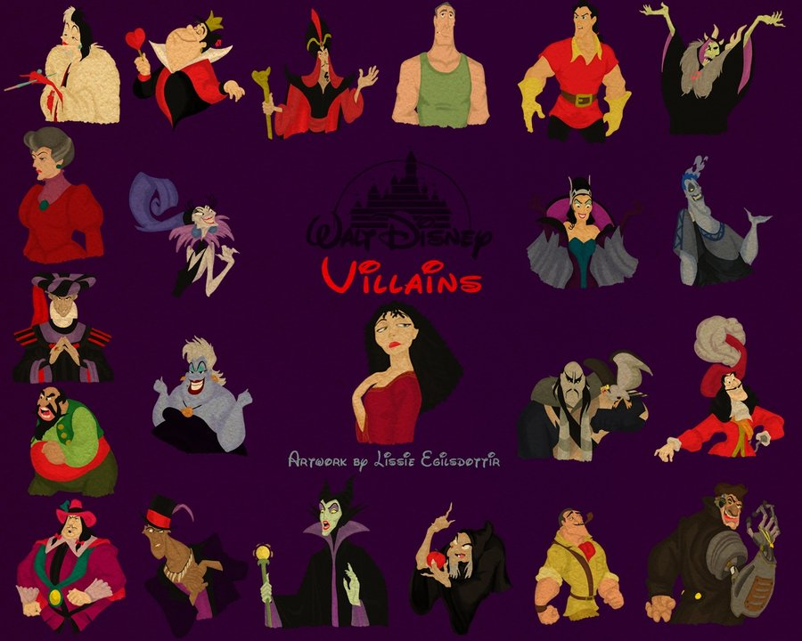 49 Disney Villains Wallpaper Deviantart On Wallpapersafari