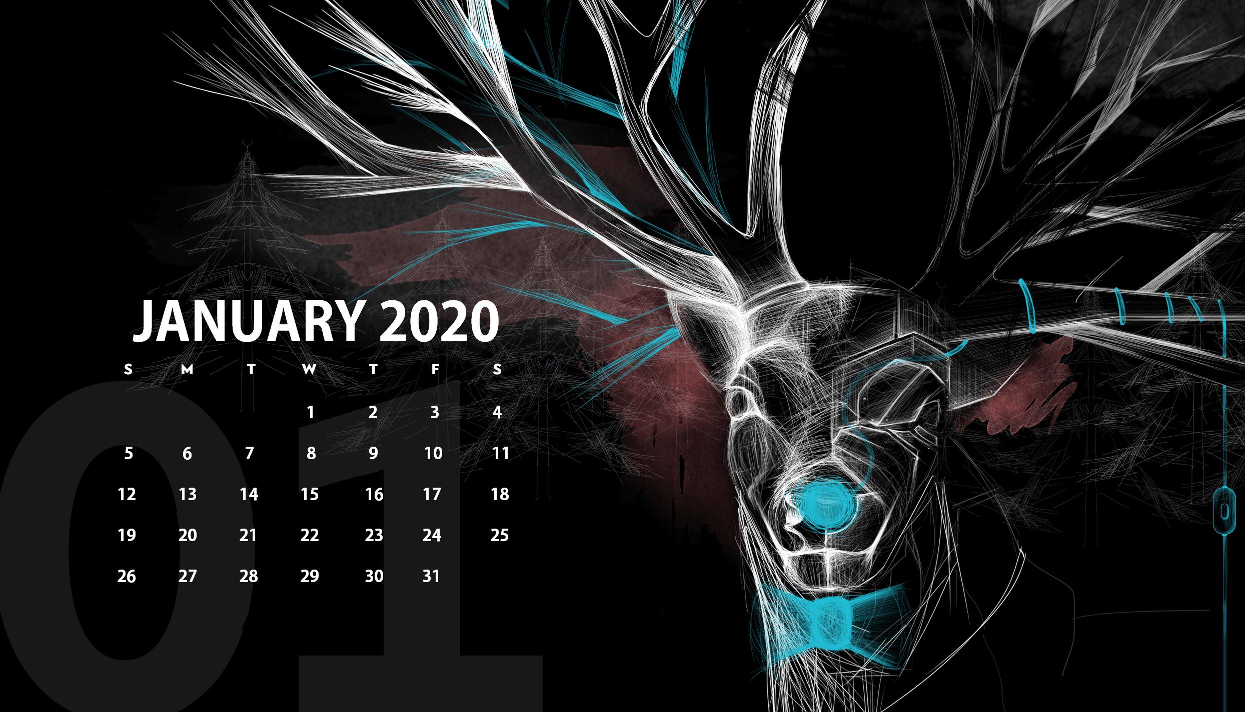 Desktop 2020 Calendar Wallpaper Calendar 2019 2489x1425
