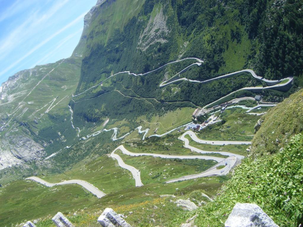 Alpenpässe österreich