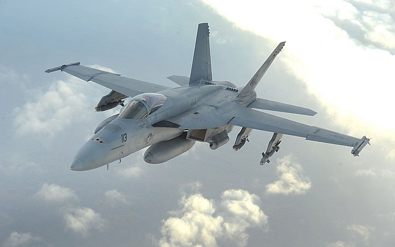 wallpapers Boeing FA 18E Super Hornet Wallpapers 1280x800