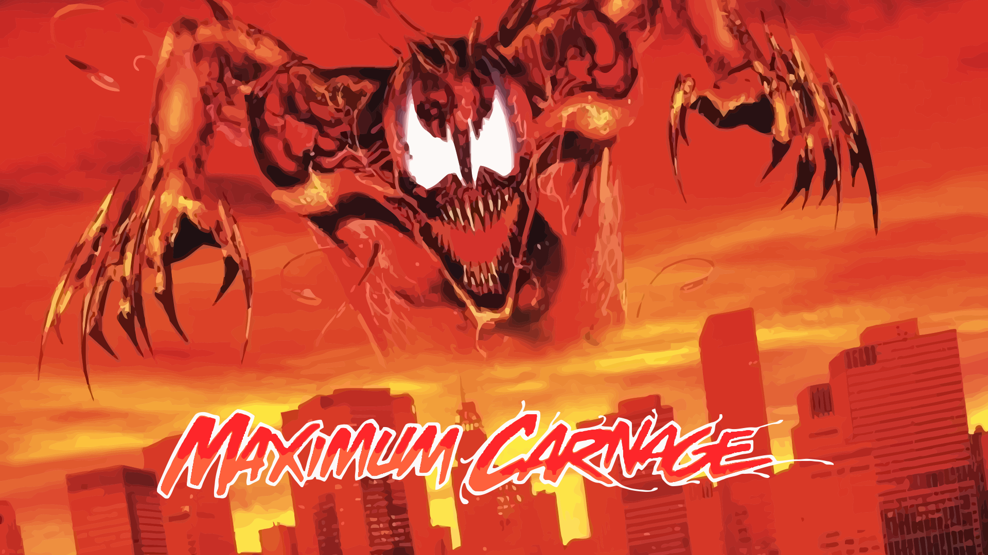 Maximum Carnage Official Poster Update By ProfessorAdagio On 1920x1080
