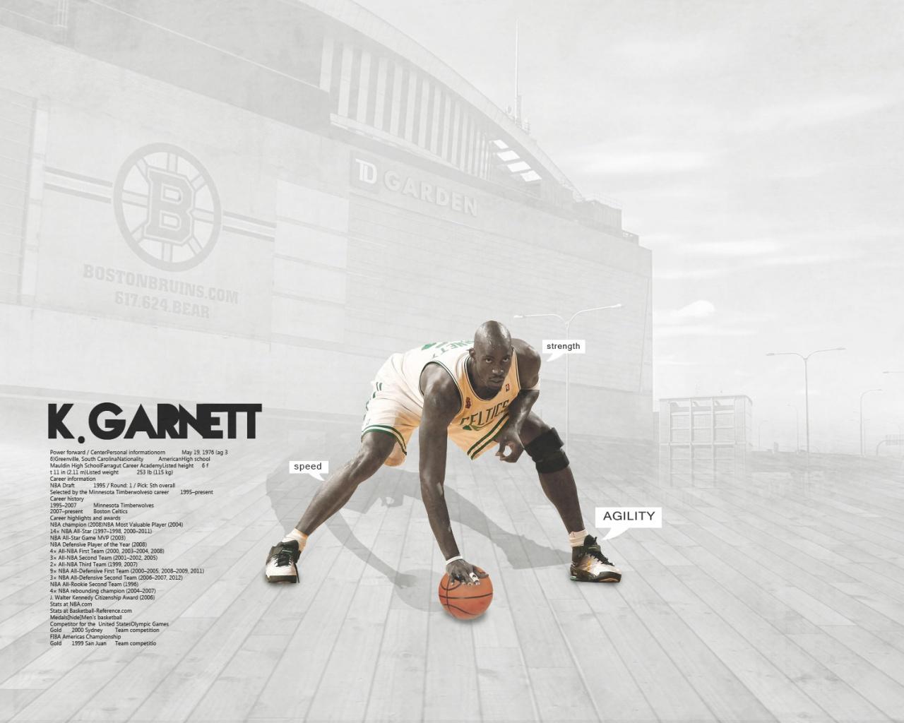 1280x1024 Td Garden basketball garnett kevin desktop PC and Mac 1280x1024