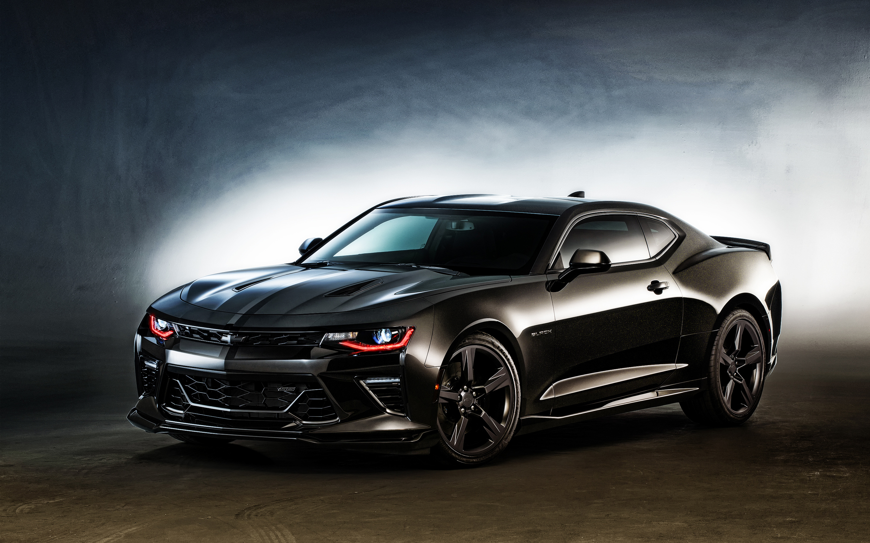 2016 Chevrolet Camaro Black Wallpaper HD Car Wallpapers ID 5934 2880x1800