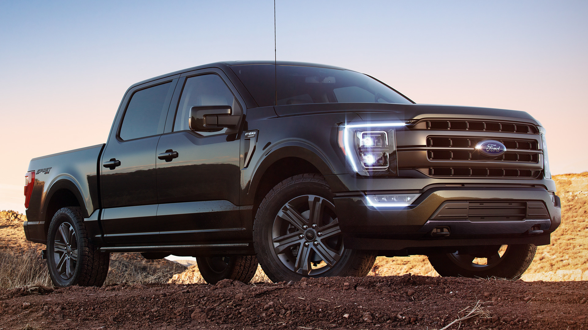 2021 Ford F 150 Lariat Sport SuperCrew   Wallpapers and HD Images 1920x1080