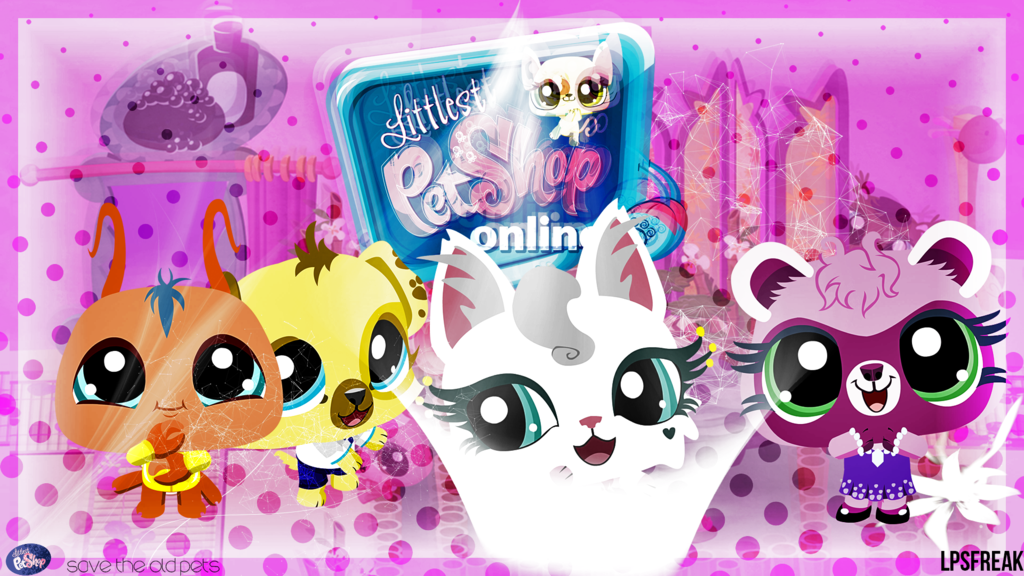 Littlest Pet Shop Online wallpaper Desktop and mobile wallpaper 1024x576