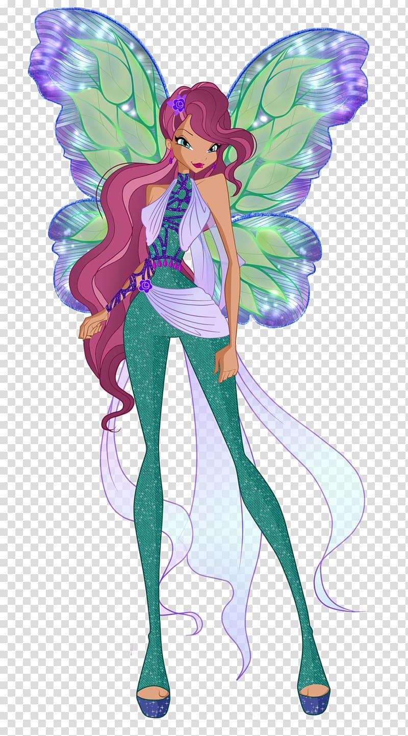 Aisha Musa Tecna Roxy The Trix Rainbow love transparent 800x1442
