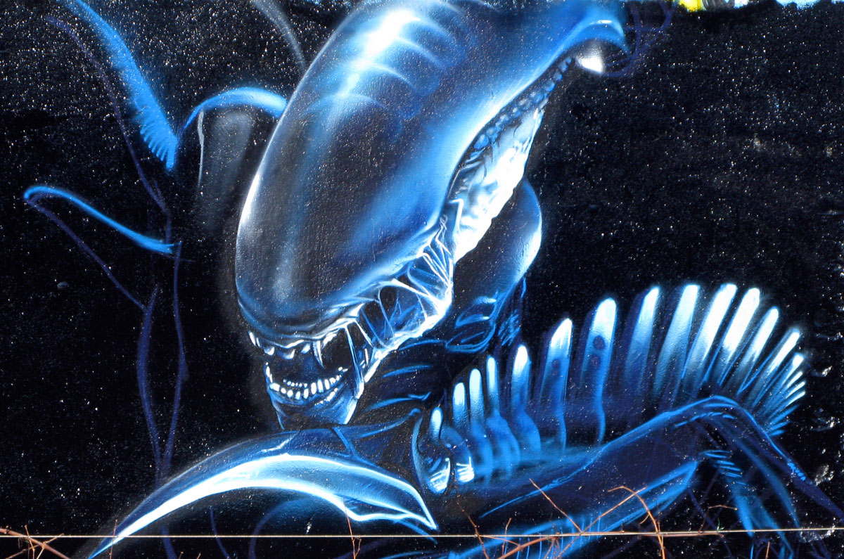 46 3d Alien Wallpaper On Wallpapersafari