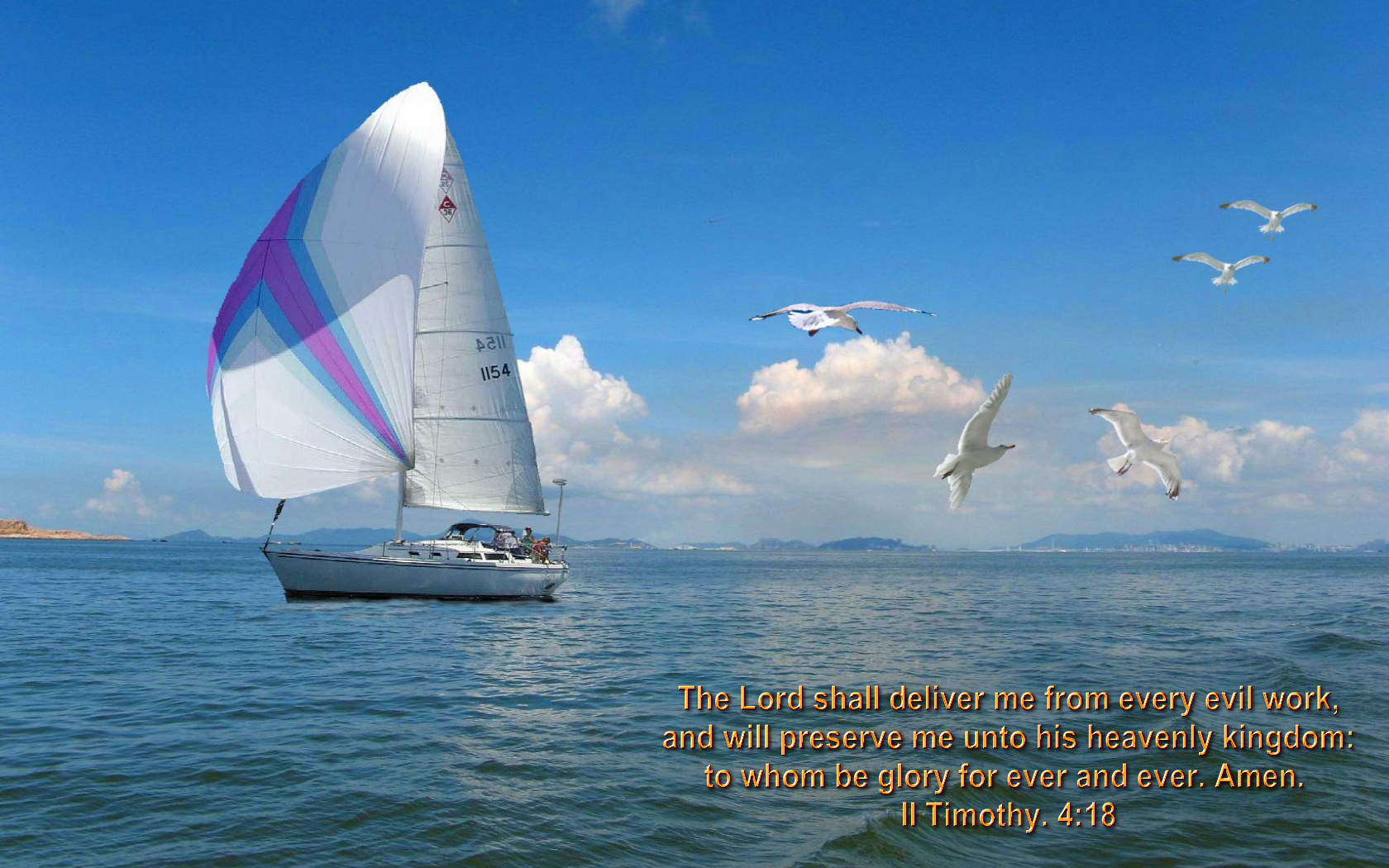 Christian  Bible versed sailing wallpapers 2nd Wittness Weblog 1680x1050