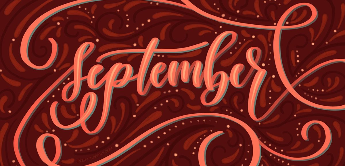 Freebie September 2016 Desktop Wallpapers   Every Tuesday 1200x580