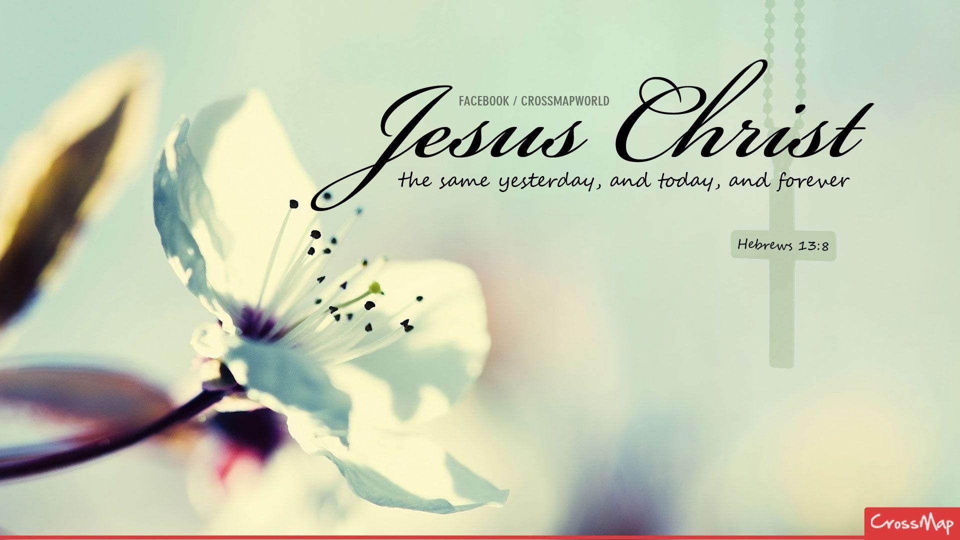 Christ remains unchangeable Christian Photographs Crossmap 1920x1080