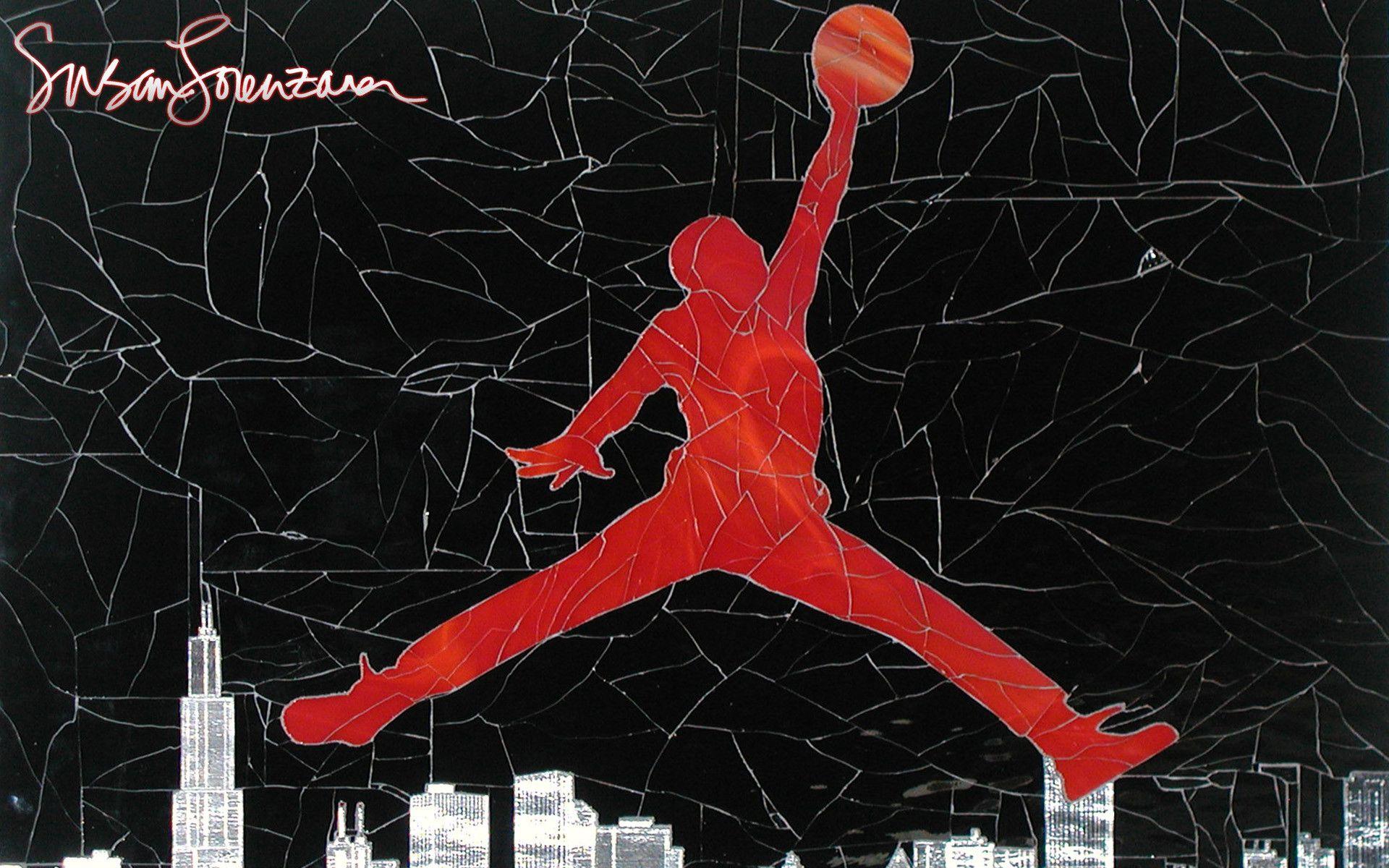 Air Jordan Logo Wallpaper 3941   Download Best HD Desktop 1920x1200