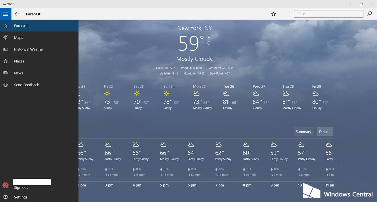 48+] Live Weather Wallpaper Windows 10 on WallpaperSafari