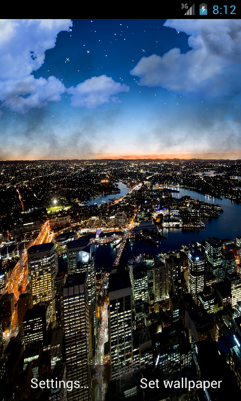 city night live wallpaper is a beautiful live wallpaper of the top 480x800
