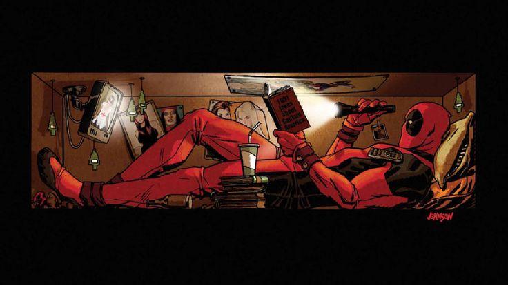 deadpool wallpaper 736x414