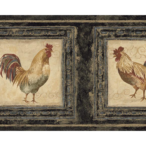 of 2 items Search Results for rooster wallpaper border 580x580
