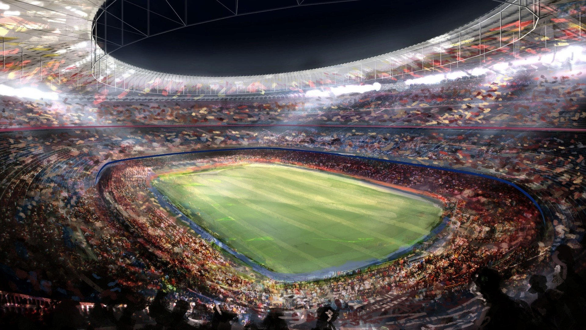 Real Madrid Stadium wallpapers hd 1920x1080