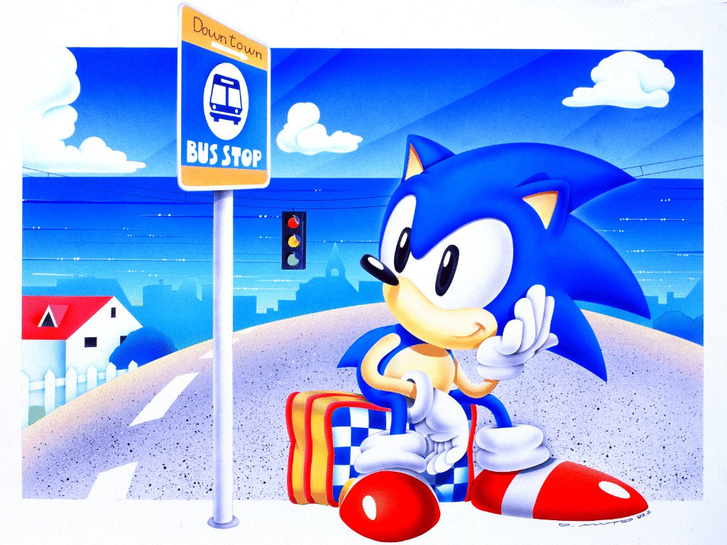 Free Download Sonic Wallpaper Classic Taringa 1024x768 For Your