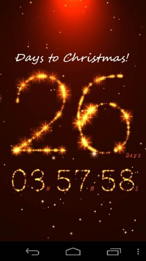 Christmas Countdown App for Android Iphone Blackberry Christmas 506x900