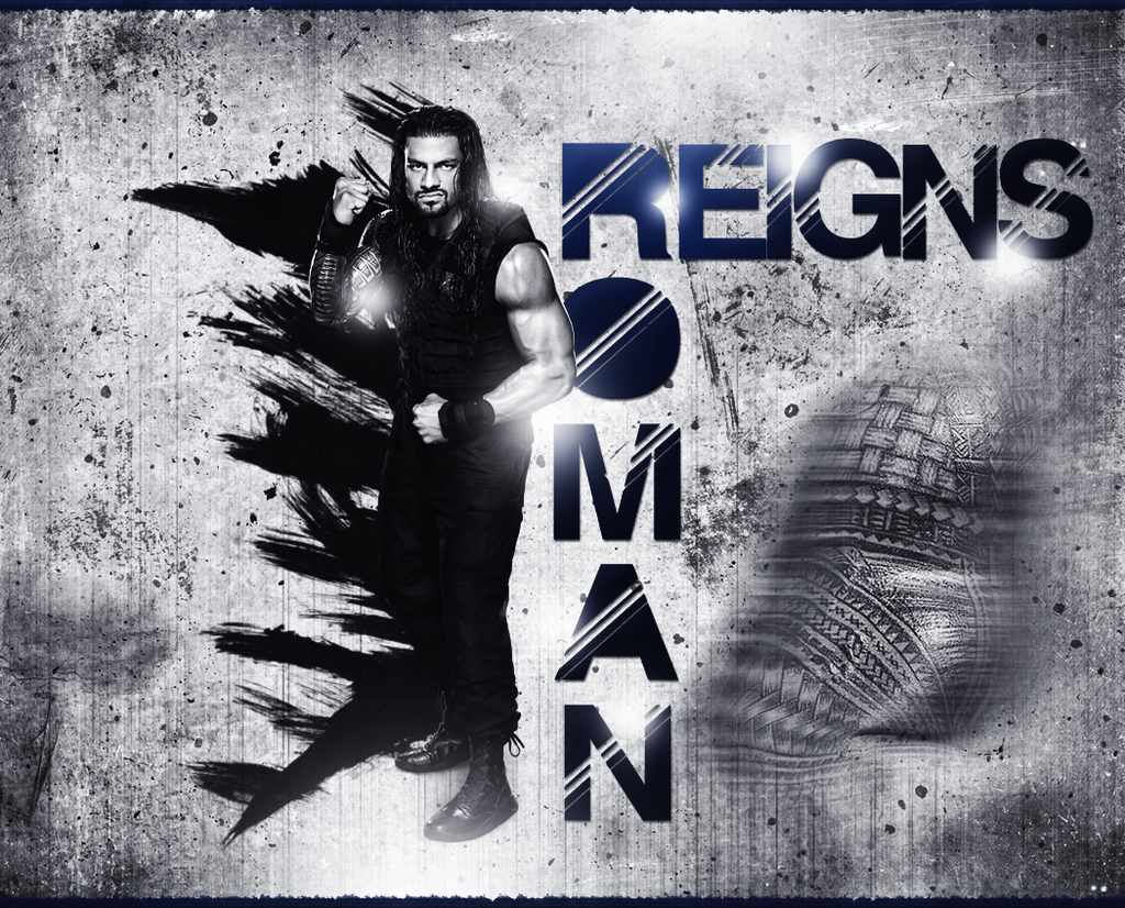 Roman Reigns Wallpaper by thetrans4med 1024x826