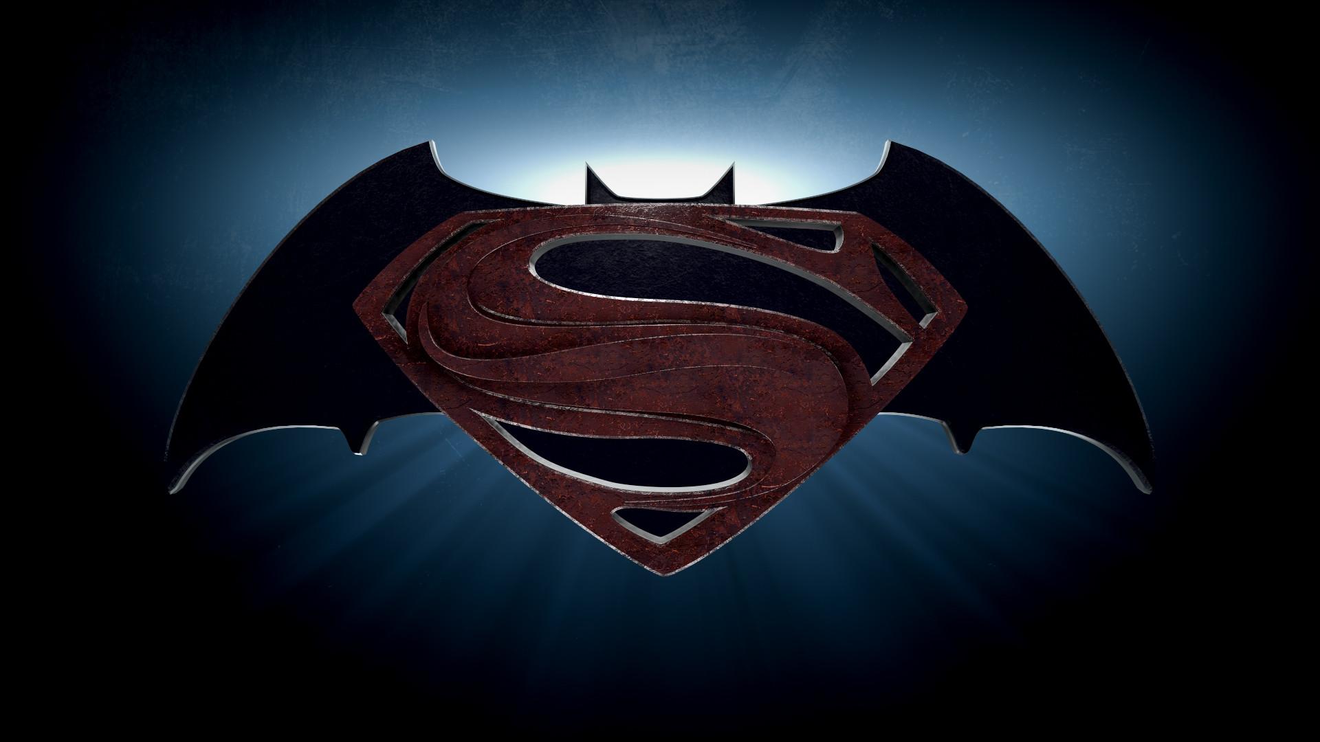Batman v Superman 2015 Movie Logo HD Wallpaper   Stylish HD Wallpapers 1920x1080