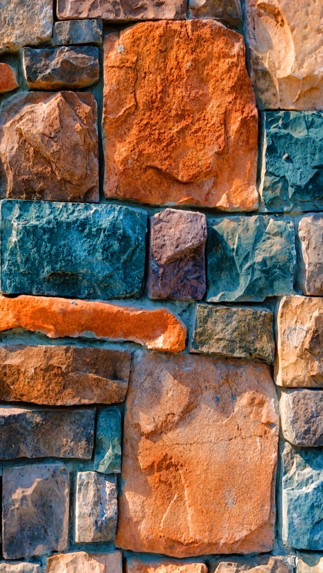 Abstract Stone Wall iPhone Wallpapers Download