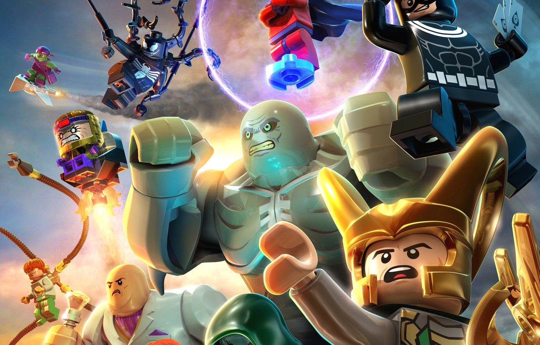 Wallpaper toys LEGO Mystic Magneto Magneto Loki Loki Venom 1332x850