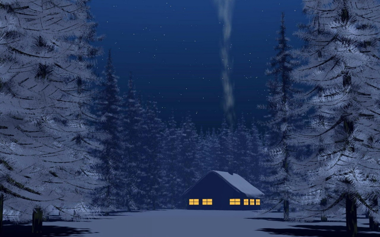 Winter Night 1440x900