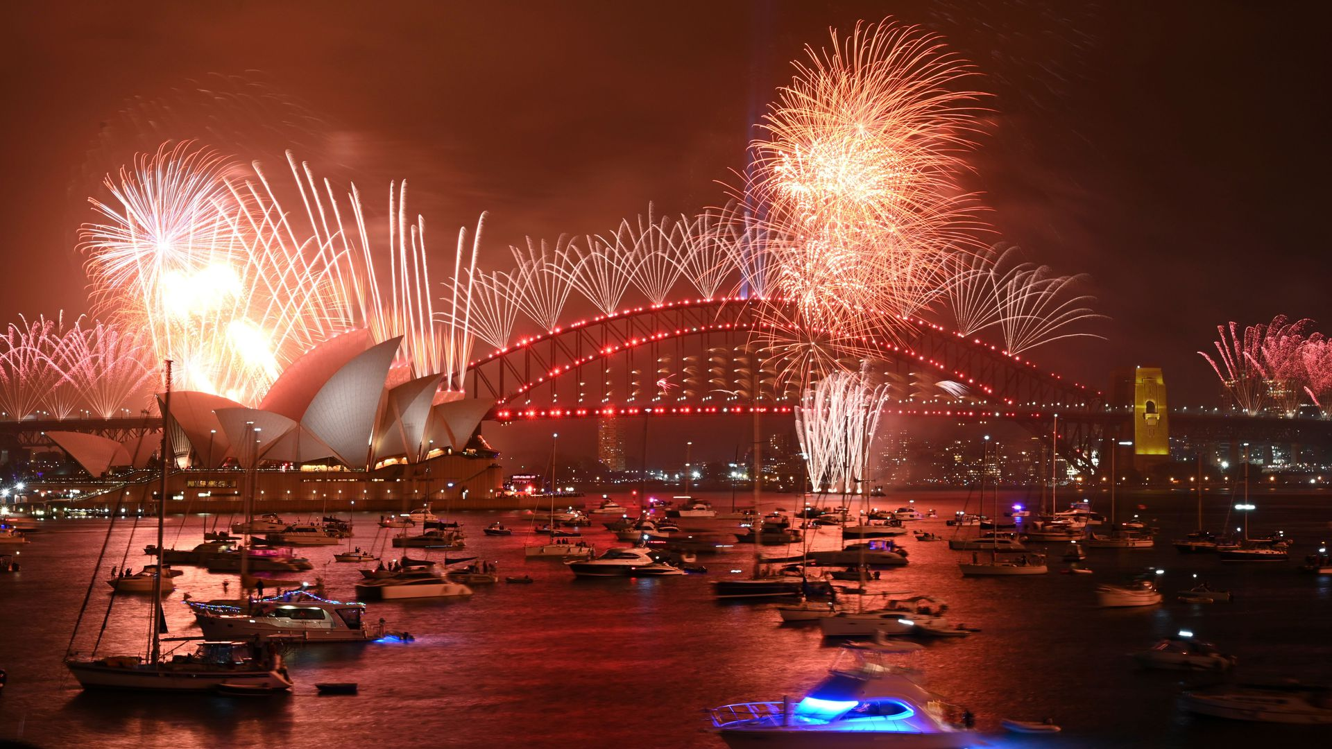 New Years Eve around the world Cities ring in 2020 photos   Axios 1920x1080