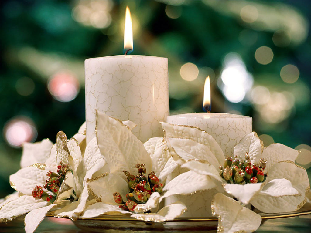 christmas candle wallpapers download wallpapers christmas candle 1024x768