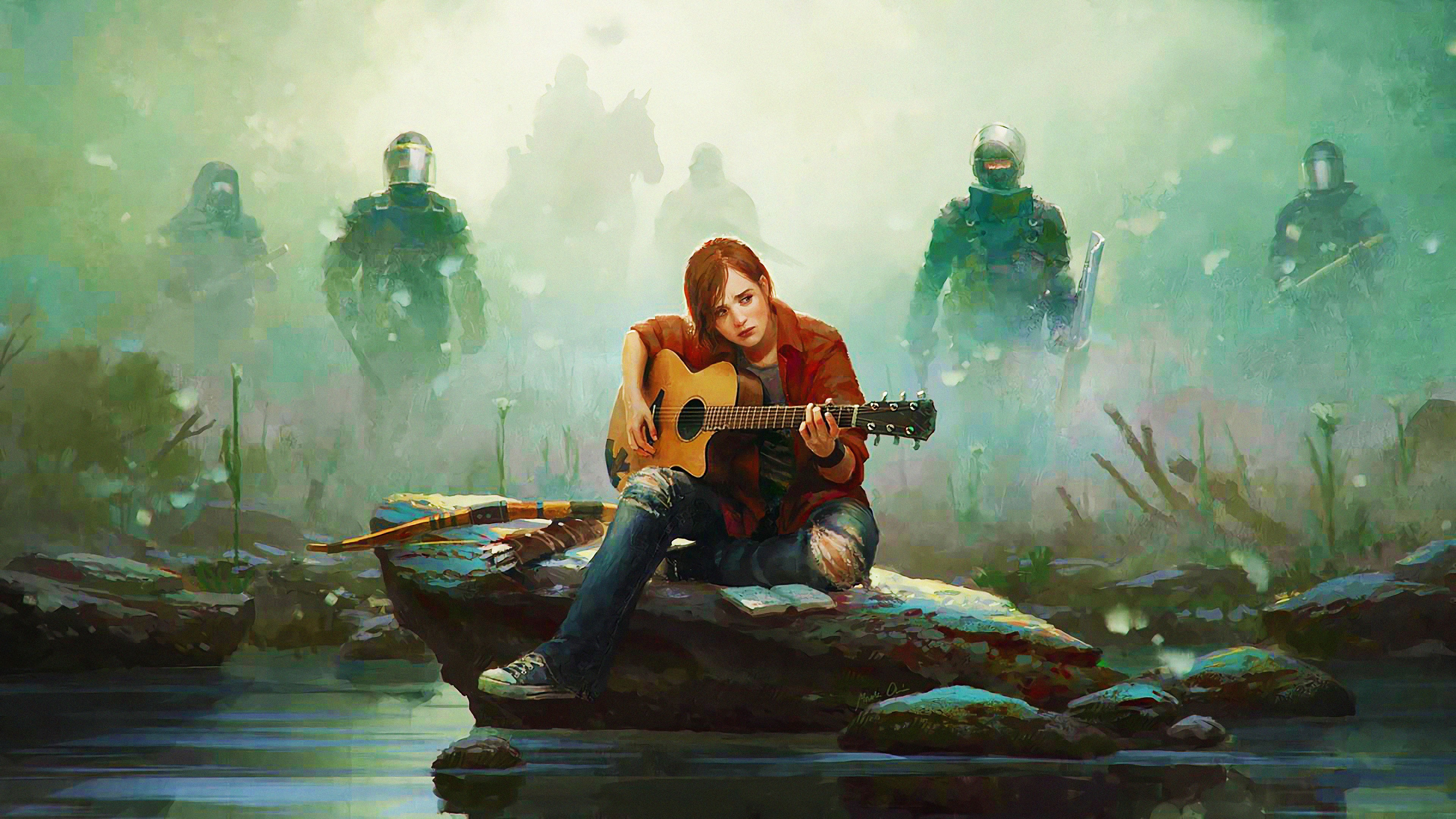 Ellie The Last of Us Part II 4K 17647 3840x2160