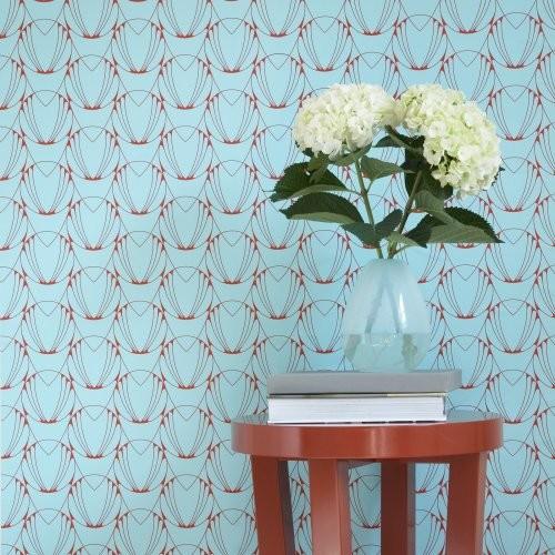 Tempaper Alto Self Adhesive Temporary Repositionable Wallpaper 500x500