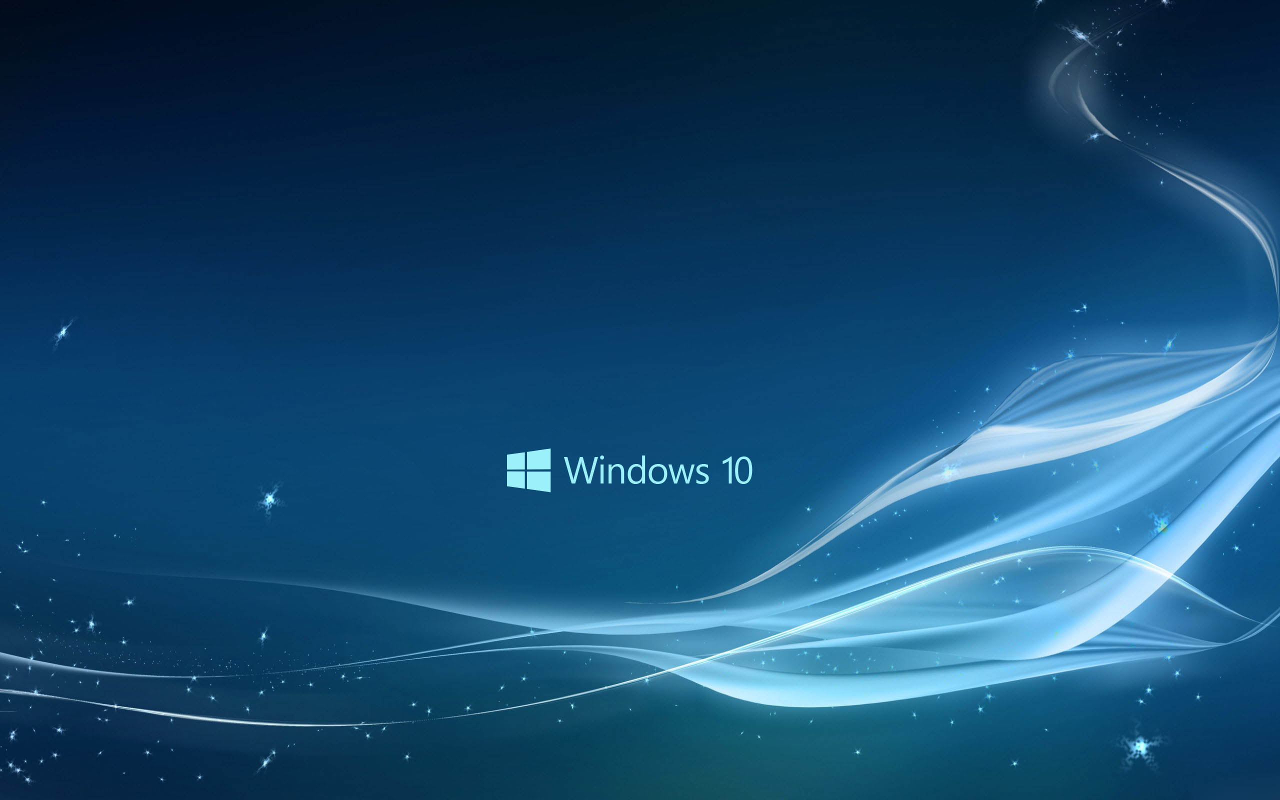 New Blue Windows 10 Wallpaper HD 12437 Wallpaper High Resolution 2560x1600