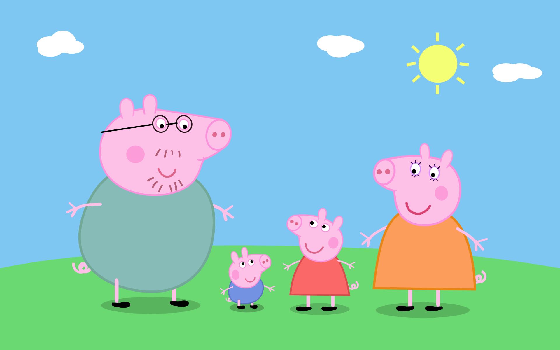 Peppa Pig HD Wallpaper - WallpaperSafari