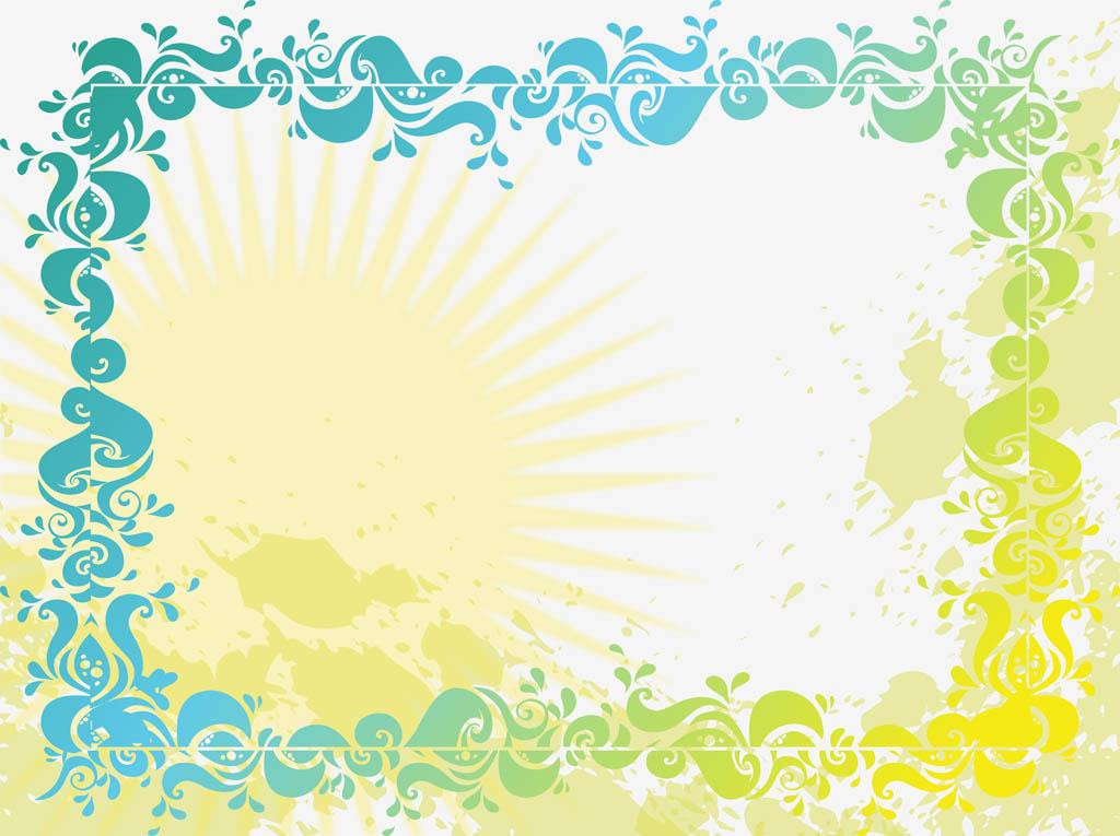 Summer Images Background Summer background vector 1024x765