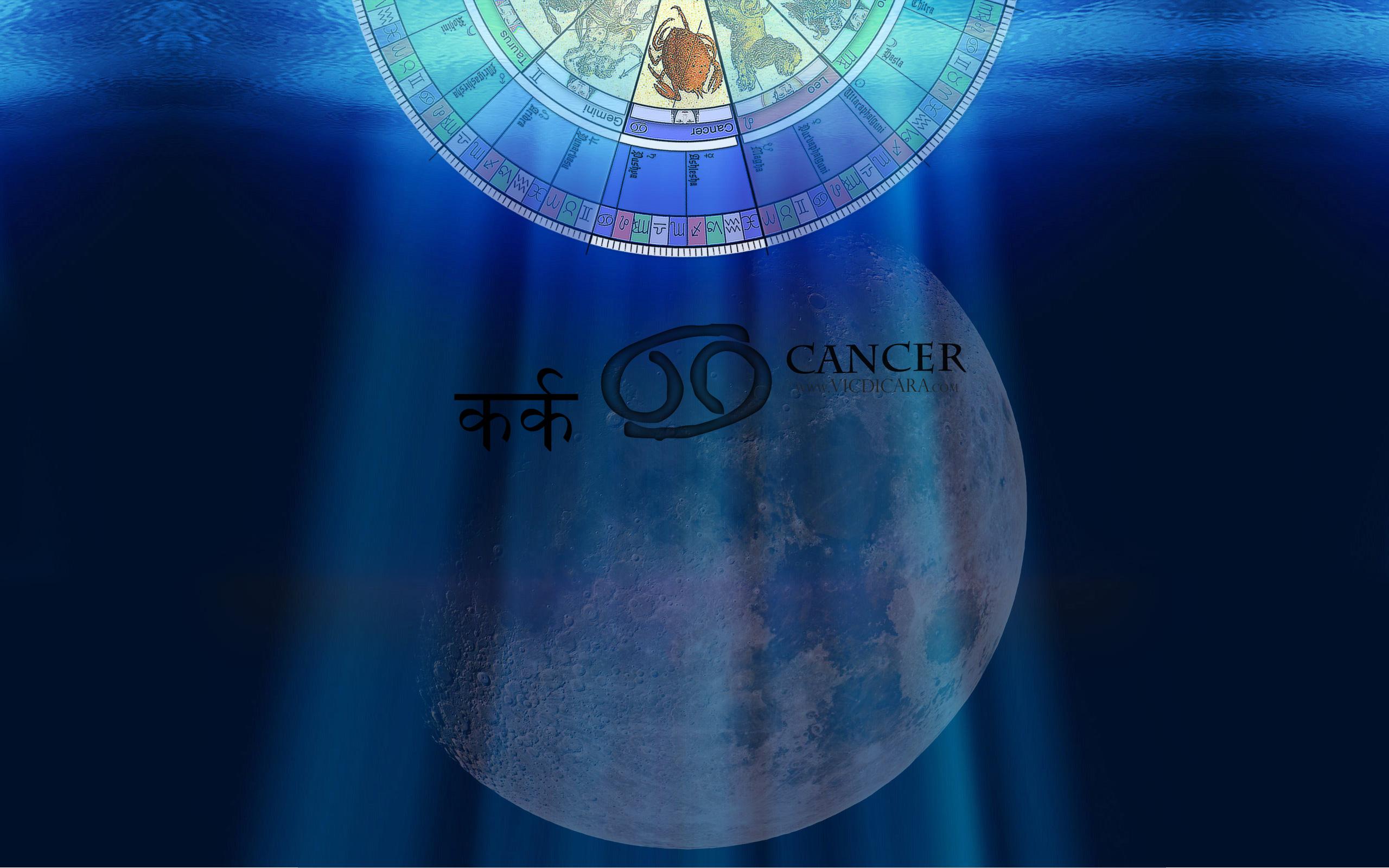 Cancer Desktop Wallpaper Astrology Zodiac Signs 2560x1600